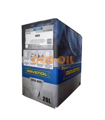 Моторное масло RAVENOL SSO SAE 0W-30 (20л) ecobox