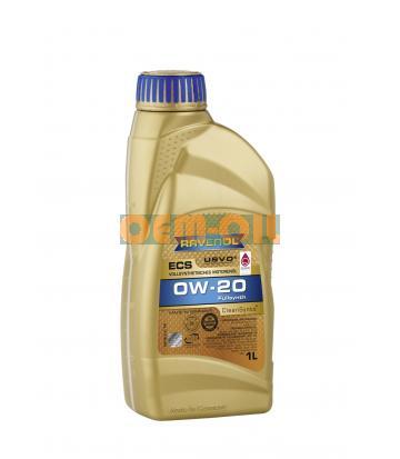 Моторное масло RAVENOL ECS EcoSynth SAE 0W-20 (1л) new