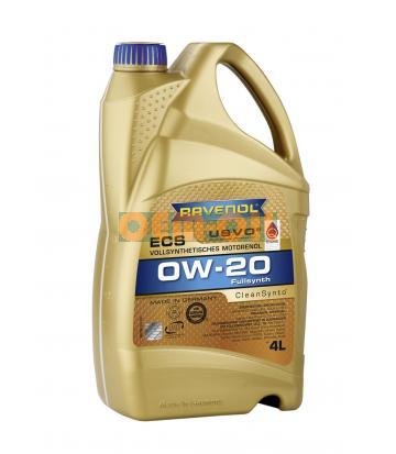 Моторное масло RAVENOL ECS EcoSynth SAE 0W-20 (4л) new