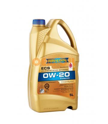 Моторное масло RAVENOL ECS EcoSynth SAE 0W-20 (5л) new