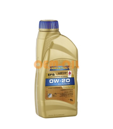 Моторное масло RAVENOL EFS EcoFullSynth SAE 0W-20 (1л) new