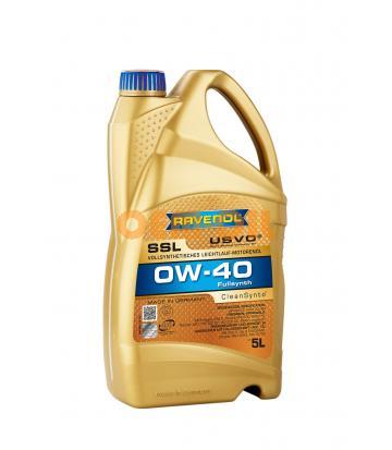 Моторное масло RAVENOL Super Synthetik Oel SSL SAE 0W-40 ( 5л) new