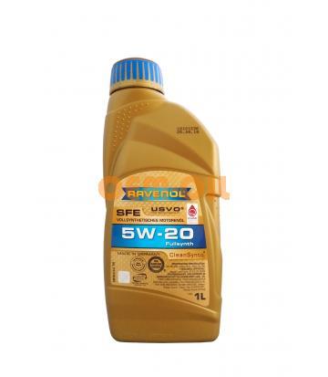 Моторное масло RAVENOL SFE SAE 5W-20 (1л) new