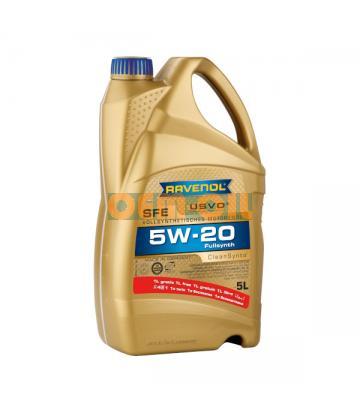 Моторное масло RAVENOL Super Fuel Economy SFE SAE 5W-20 ( 5л) new