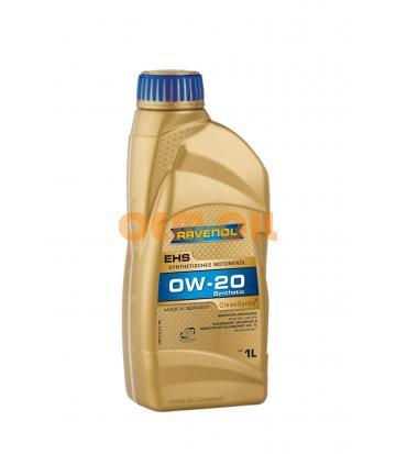 Моторное масло RAVENOL EHS SAE 0W-20 (1л)