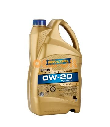 Моторное масло RAVENOL EHS SAE 0W-20 (5л)