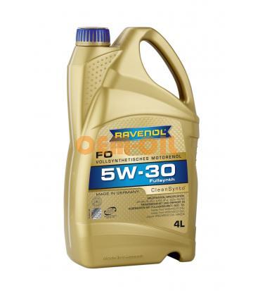 Моторное масло RAVENOL FO SAE 5W-30 (4л) new