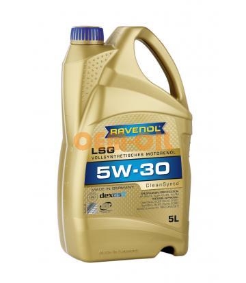 Моторное масло RAVENOL LSG SAE 5W-30 (5л) new