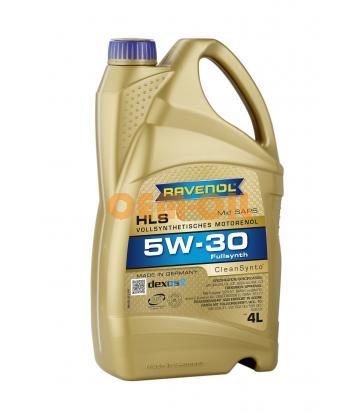Моторное масло RAVENOL HLS SAE 5W-30 (4л) new