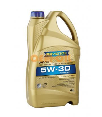 Моторное масло RAVENOL WIV III SAE 5W-30 (4л) new