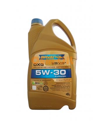 Моторное масло RAVENOL DXG SAE 5W-30 ( 4л) new