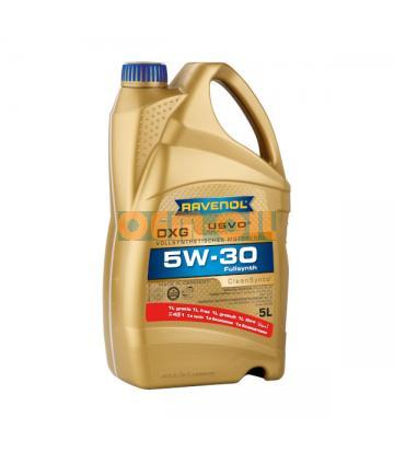 Моторное масло RAVENOL DXG SAE 5W-30 ( 4+1л) new