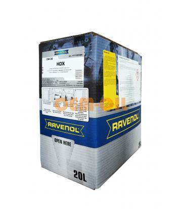 Моторное масло RAVENOL HDX SAE 5W-30 (20л) ecobox
