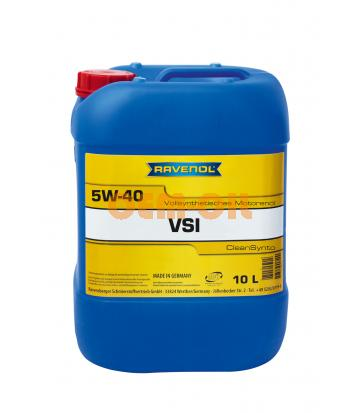 Моторное масло RAVENOL VSI SAE 5W-40 (10л) new