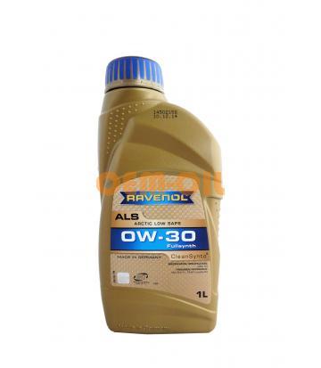 Моторное масло RAVENOL Arctic Low SAPS ALS SAE 0W-30 (1л)