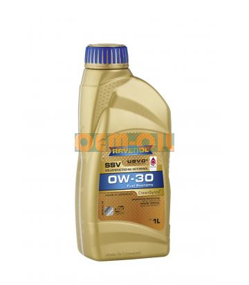 Моторное масло RAVENOL SSV Fuel Economy SAE 0W-30 (1л) new