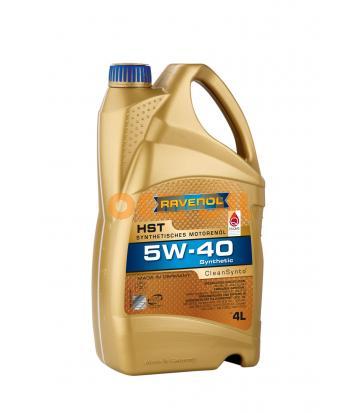 Моторное масло RAVENOL HST SAE 5W-40 (4л)