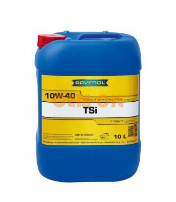 Моторное масло RAVENOL TSI SAE 10W-40 (10л) new