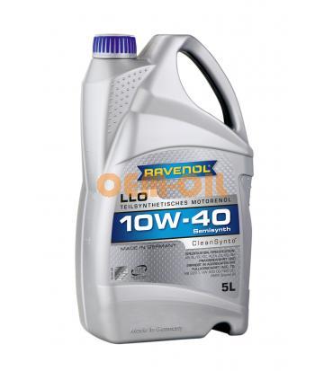 Моторное масло RAVENOL LLO SAE 10W-40 (5л) new