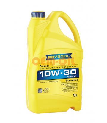 Моторное масло RAVENOL Formel Standard SAE 10W-30 (5л) new