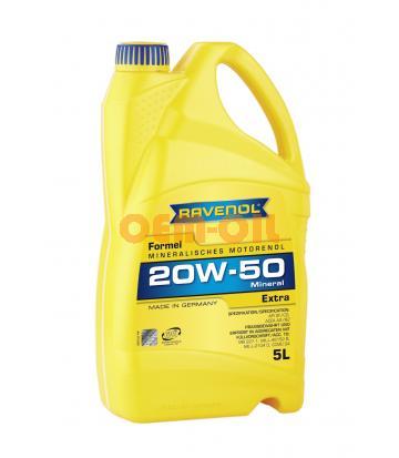 Моторное масло RAVENOL Formel Extra SAE 20W-50 SF-CD ( 5л) new
