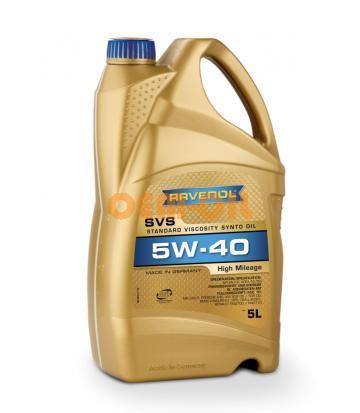 Моторное масло RAVENOL SVS Standard Viscosity Synto Oil SAE 5W-40 (5л) new