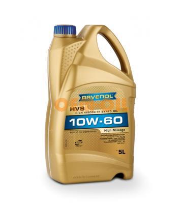 Моторное масло RAVENOL HVS High Viscosity Synto Oil SAE 10W-60 (5л) new