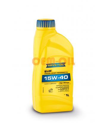 Моторное масло RAVENOL SVP Stand.Viscos.Perform.Oil SAE 15W-40 (1л) new
