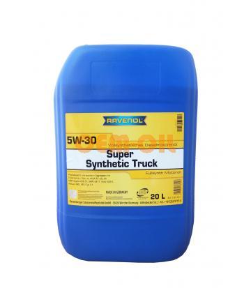 Моторное масло RAVENOL Super Synthetic Truck SAE 5W-30 (20л)