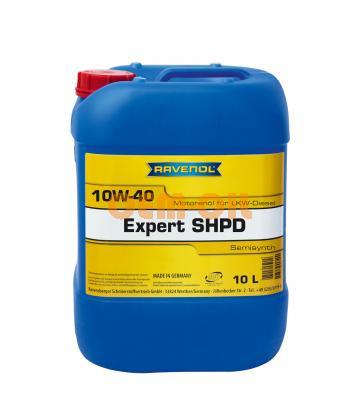 Моторное масло RAVENOL Expert SHPD SAE10W-40 (10л) new