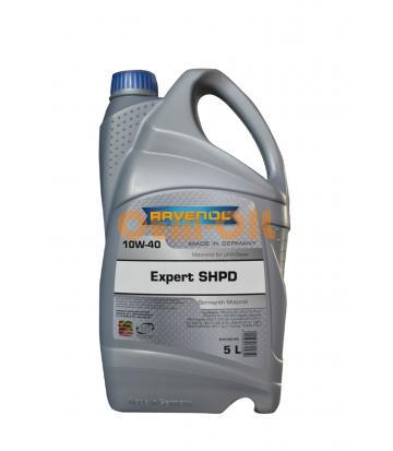 Моторное масло RAVENOL EXPERT SHPD SAE 10W-40 (5л) new
