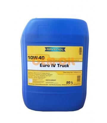 Моторное масло RAVENOL EURO IV Truck SAE 10W-40 (20л) new
