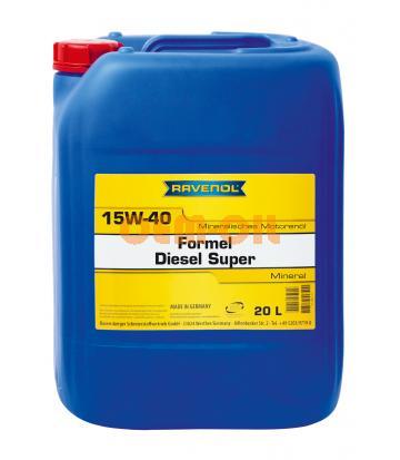 Моторное масло RAVENOL Formel Diesel Super SAE 15W-40 (20л) new