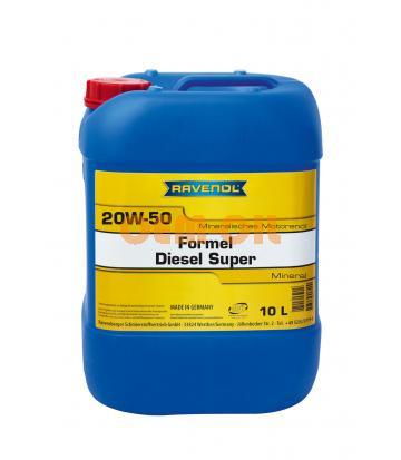 Моторное масло RAVENOL Formel Diesel Super SAE 20W-50 (10л) new
