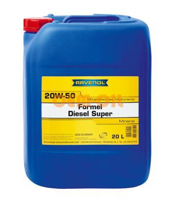 Моторное масло RAVENOL Formel Diesel Super SAE 20W-50 (20л) new