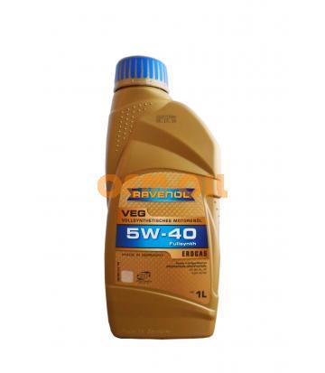 Моторное масло RAVENOL VEG SAE 5W-40 (1л)