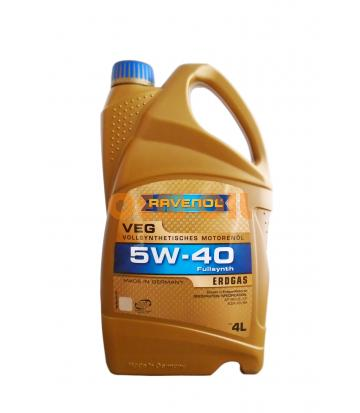 Моторное масло RAVENOL VEG SAE 5W-40 (4л)