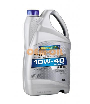 Моторное масло RAVENOL TEG SAE 10W-40 (4л) new