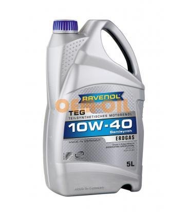 Моторное масло RAVENOL TEG SAE 10W-40 (5л) new