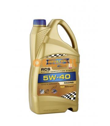 Моторное масло RAVENOL RCS Racing Competition Synto SAE 5W-40 (4л)