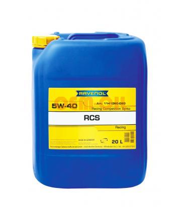 Моторное масло RAVENOL RCS Racing Competition Synto SAE 5W-40 (20л)