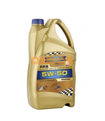 Моторное масло RAVENOL Racing Rally Synto SAE5W-50 ( 5л) new