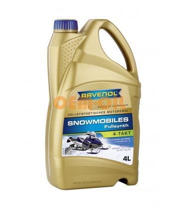 Масло для 4-Такт снегоходов RAVENOL Snowmobiles 4-Takt Fullsynth. (4л) new