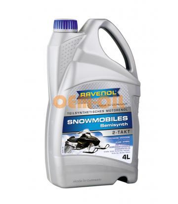 Масло RAVENOL SNOWMOBILES 2Т для мотосаней полусинтетика (4л) new