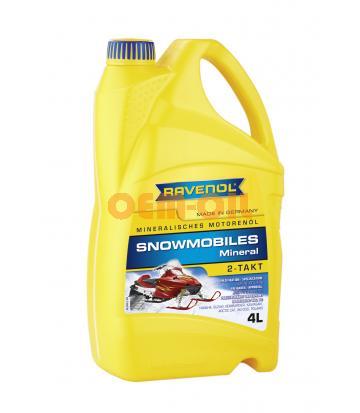 Масло RAVENOL SNOWMOBILES 2Т для мотосаней минеральное (4л) new