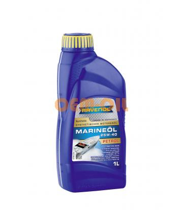 Моторное масло RAVENOL Marineoil PETROL SAE 25W-40 synthetic (1л) new