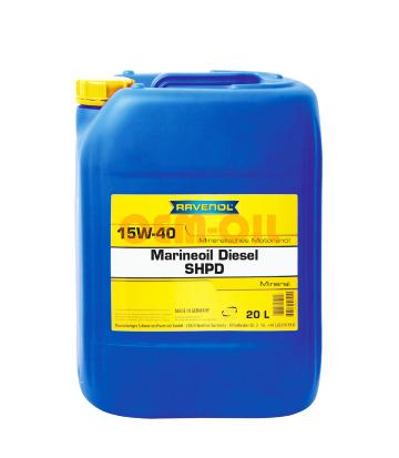 Моторное масло RAVENOL Marineoil Diesel SHPD 15W-40 (20л) new