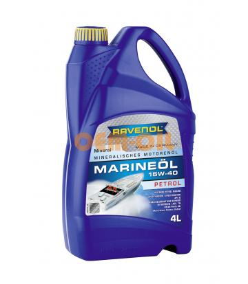 Моторное масло RAVENOL Marineoil PETROL SAE 25W-40 mineral (4л) new