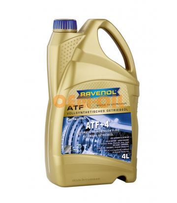 Трансмиссионное масло для АКПП RAVENOL ATF+4 Fluid (4л) new