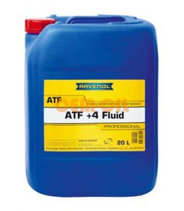 Трансмиссионное масло RAVENOL ATF+4 Fluid (20л) new